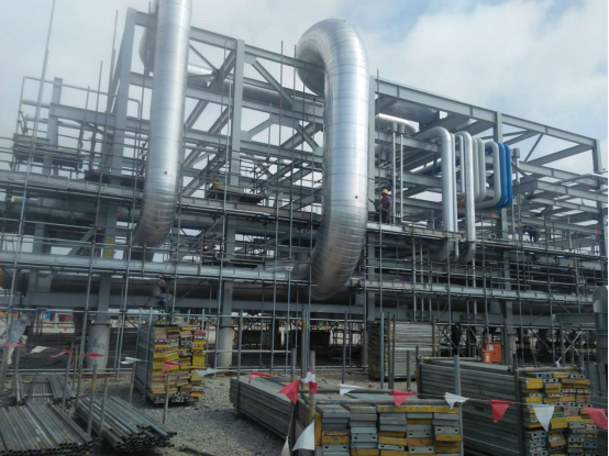Huali Insulation Epc For Knpc Refinery Project